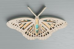 Insect laser cut file - Butterfly Mandala Product Image 4