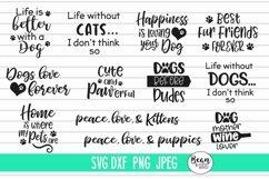 Pet Love Bundle 20 Pet Svg Designs Product Image 2