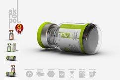 Vial Bottles Mock Up Product Image 4