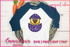 CHUCKY THE CHICK SVG 2 MANDALA ZENTANGLE EASTER DESIGNS Product Image 5