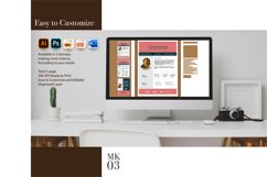 Blog Media Kit Template - 3 Page Product Image 2