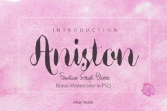Aniston + Watercolor Product Image 1