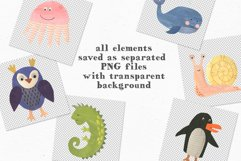 Papercut Animals Clipart Product Image 7