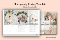 Newborn Photography Pricing Template, Photo Price Guide Product Image 2