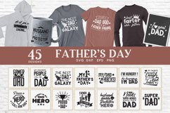 Father's Day svg bundle - Funny Dad Father svg png eps dxf Product Image 1
