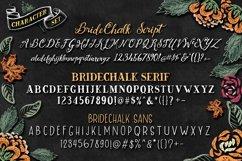 BrideChalk Typeface Product Image 5