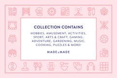 Line Icons - Hobbies Product Image 2