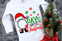 Christmas svg designs, Days until Christmas svg , Santa SVG, Product Image 1