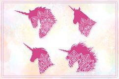 Unicorn Mandala SVG Cut Files Pack Product Image 4