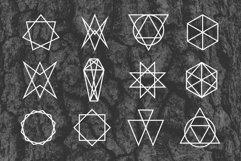 24 Occult Symbols Plus 4 Free Photos Product Image 5
