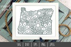 State Mandala Zentangle Bundle Set of 50 - USA SVG Product Image 2