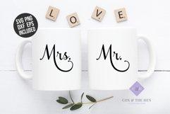 Mr Mrs SVG - Wedding Svg Product Image 1