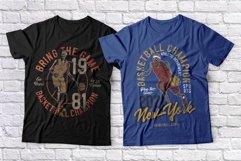 Basketball skeleton 10 t-shirts set Product Image 4
