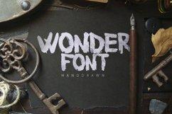 Wonderfont Brush Typeface Product Image 1