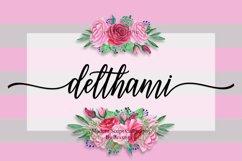 NEW Delthami Script    Elegant Product Image 1