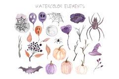 Halloween watercolor Product Image 2