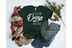 Winter Mockup Bundle Bella Canvas Mockup Bundle T Shirt Flay Product Image 4