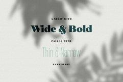 Norfolk Font Pair Bold & Narrow Product Image 2