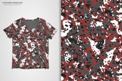 Flecktarn Camo Seamless Patterns Product Image 4