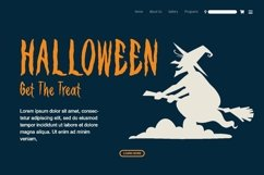 Web Font Spooky Vampire Font Product Image 2