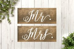 Wedding SVG Cut File Bundle for Signs Product Image 3