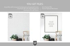 Scandinavian Interior Frames & Walls Mockup Bundle Product Image 4