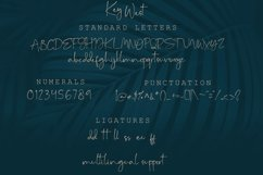 Key West Script Font with Extra Product Image 2