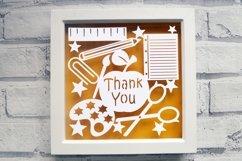 Teacher Paper Cut SVG / DXF / EPS Files Product Image 1