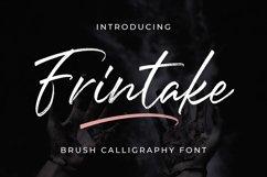 Frintake - Brush Calligraphy Font Product Image 1