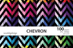 Color chevron digital paper Product Image 1