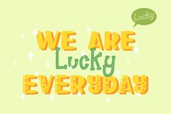 Happy Clover Font Duo Product Image 4