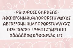 Primrose Gardens a lovely loopy font Product Image 4
