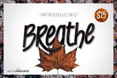 Breathe Typeface Product Image 1