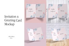 Invitation & Greeting Card Mockup Product Image 1