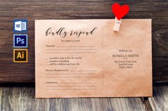 RSVP cards, TOS_42 Product Image 1