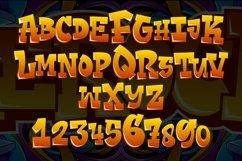 Aerock - Layered Graffiti Font Product Image 4