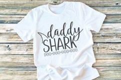 Shark Family - Shark - Daddy Shark SVG Product Image 2