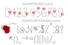 Love Valentines svg color font Product Image 4