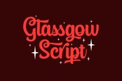 Glassgow Script Product Image 1