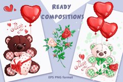 Valentine's Day. Vector clipart. Elements. Product Image 3