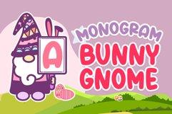 Monogram Bunny Gnome Product Image 1