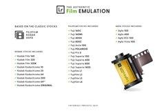 Film Emulation - Lightroom Presets Product Image 2