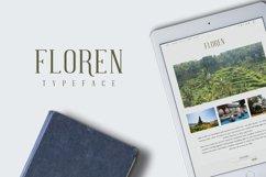 FLOREN TYPEFACE Product Image 4