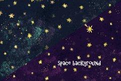 Space clip art/ Solar sistem kid Product Image 4
