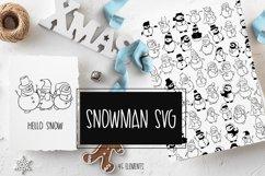 Snowman SVG Product Image 1