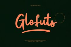 Glofuts Handwritten Script Font Product Image 1