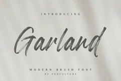 Garland - Modern Brush Font Product Image 1