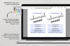 Rustic Rehearsal Dinner Invitation, Invitation Template Product Image 4