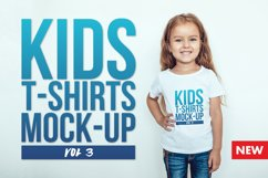 Kids T-Shirt Mock-Up Vol 3 Product Image 1