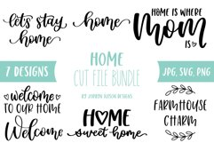 Home SVG Bundle, Welcome to Our Home Bundle Product Image 1